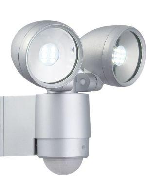 LED Outdoor wall lamp with sensor Globo RADIATOR II 34105-2S