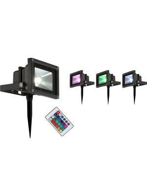 LED reflector RADIATOR III ,Globo 34118s RGB