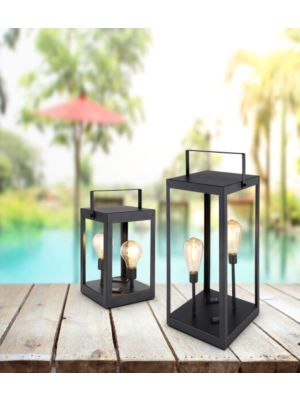 LED Outdoor solar lamp Globo DORIS 36701