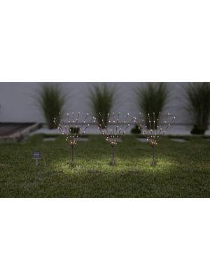 LED Outdoor solar floor lamp Globo 39145